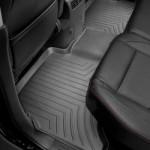 Ковры салона Honda CRV 2012- с бортиком, черные, задние - Weathertech