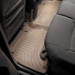 Ковры салона Toyota Rav 4 2005- с бортиком, задние, бежевые USA - Weathertech