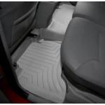 Ковры салона Toyota Hilux 2006-12 с бортиком, серые, задние - Weathertech