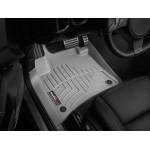 Коврики в салон Volkswagen Touareg 2010-... Серые передние 463331 WeatherTech