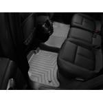 Коврики в салон Volkswagen Touareg 2010-... Черные задние 443332 WeatherTech