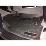 Коврики в салон Toyota Land Cruiser 200 2014- Черные передние 444231 WeatherTech
