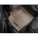 Коврики в салон Range Rover Evoque 2012- Бежевые передние 454041 WeatherTech