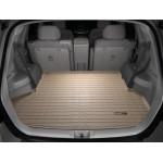 Коврик в багажник Toyota Highlander 2014- Бежевый без 3-его ряда 41328 WeatherTech