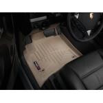 Коврики в салон Volkswagen Touareg 02-2010 Бежевые передние 450451 WeatherTech