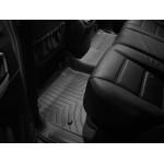 Коврики в салон Volkswagen Touareg 02-2010 Черные задние 440452 WeatherTech