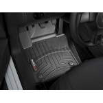 Коврики в салон Volkswagen Touran 10-2015 Черные передние 443941 WeatherTech