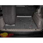 Коврик багажника WeatherTech Hummer H2, Черный Для авто с запаской в багажнике - резиновые
