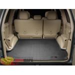 Коврик багажника WeatherTech Toyota Land Cruiser 120 Prado, Черный - резиновые
