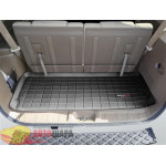 Коврик багажника WeatherTech Nissan Pathfinder 2005-2012, Черный до третьего ряда - резиновые