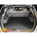 Коврик багажника WeatherTech Acura MDX 2007-2013, Черный до второго ряда - резиновые