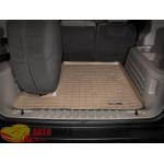 Коврик багажника Hummer H2, Бежевый Для авто с запаской в багажнике - резиновые WeatherTech
