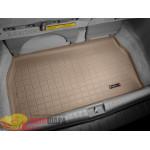 Коврик багажника WeatherTech Toyota Sienna 2003-2010, Бежевый до третьего ряда - резиновые