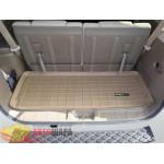 Коврик багажника WeatherTech Nissan Pathfinder 2005-2012, Бежевый до третьего ряда - резиновые