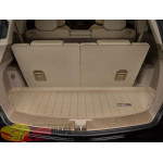 Коврик багажника WeatherTech Acura MDX 2007-2013, Бежевый до третьего ряда - резиновые