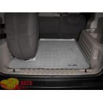 Коврик багажника WeatherTech Hummer H2, Серый Для авто с запаской в багажнике - резиновые