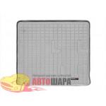 Коврик багажника Hummer H2, Серый Для авто с запаской на 5й двери - резиновые WeatherTech