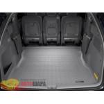 Коврик багажника WeatherTech Toyota Sienna 2003-2010, Серый до второго ряда - резиновые