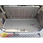 Коврик багажника WeatherTech Nissan Pathfinder 2005-2012, Серый до третьего ряда - резиновые