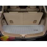 Коврик багажника WeatherTech Acura MDX 2007-2013, Серый до третьего ряда - резиновые