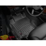 Коврики салона WeatherTech Mercedes GL-Class X164 2006-, Черные - резиновые