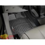 Коврики салона WeatherTech Toyota Venza 2008-, Черные до 2012 - резиновые