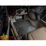 Коврики салона WeatherTech Mercedes GLK-ClassX204 2008-, Черные - резиновые