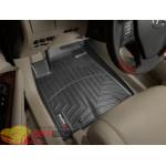 Коврики салона WeatherTech Lexus RX-270, 350, 450h 2009-, Черные - резиновые