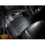 Коврики салона WeatherTech Honda CR-V 2007-2012, Черные 1+2 ряд. Передний ряд раздельный - резиновые