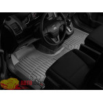 Коврики салона WeatherTech Honda CR-V 2007-2012, Черные 1+2 ряд. Передний ряд цельный - резиновые