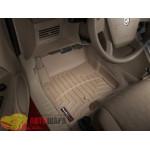 Коврики салона WeatherTech Dodge Caliber 2007-, Бежевые - резиновые