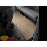 Коврики салона WeatherTech Toyota Sienna 2003-2010, Третий ряд, Бежевый - резиновые