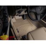 Коврики салона WeatherTech Mercedes GLK-ClassX204 2008-, Бежевые - резиновые