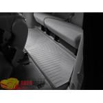 Коврики салона WeatherTech Toyota Sienna 2003-2010, Третий ряд, Серый - резиновые