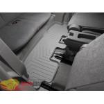Коврики салона WeatherTech Toyota Highlander 2008- 2011-, Третий ряд, серый - резиновые