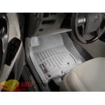 Коврики салона Toyota 4Runner 2011-2012, Серые - резиновые WeatherTech