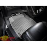 Коврики салона WeatherTech Honda CR-V 2007-2012, Серые 1+2 ряд. Передний ряд раздельный - резиновые