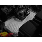 Коврики салона WeatherTech Honda CR-V 2007-2012, Серые 1+2 ряд. Передний ряд цельный - резиновые