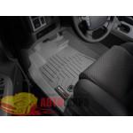 Коврики салона WeatherTech Toyota Sequoia 2008- Platinum, Серые с 2012+ - резиновые