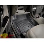 Коврики салона Toyota 4Runner 2011-2012, Черные - резиновые WeatherTech