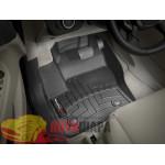Коврики салона WeatherTech Ford Kuga 2013-, Черные - резиновые
