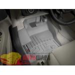 Коврики салона WeatherTech Ford Kuga 2013-, Серые - резиновые