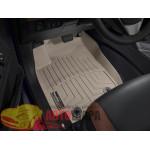 Коврики салона Toyota Rav4 2013-, Бежевые - резиновые WeatherTech