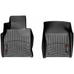 Ковры салона Infiniti Q70 2014-, черные, передние - Weathertech