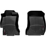 Килими салону Subaru XV 2013- з бортиком, чорні, передні - Weathertech