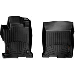 Ковры салона Honda Accord 2013- с бортиком, передние черные - Weathertech