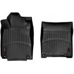 Ковры салона Honda CRV 2012- с бортиком, черные, передние - Weathertech