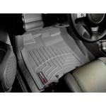 Ковры салона Toyota FJ Cruiser 2007- с бортиком, передние, серые - Weathertech