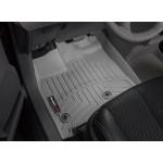 Ковры салона Toyota Sienna 2013- с бортиком, серые, передние - Weathertech