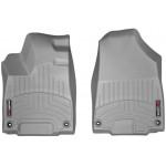 Ковры салона Acura MDX 2014- с бортиком, передние, cерые - Weathertech